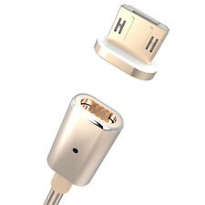 Metal Micro USB Charge Magnetic Adapter Charger Charging Cable For Android Phone