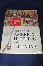1959 The Story of American Hunting and Firearms Editors Outdoor Life HCDJ