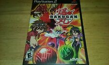 PLAYSTATION 2 PS2 BAKUGAN BATTLE BRAWLERS BLACK LABEL OG VIDEO GAME