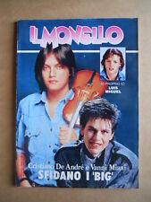 IL MONELLO n°14 1985 Luis Miguel Cristiano De Andrè Mick Jagger  [G431]