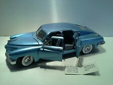 1948 Tucker 1:24 Franklin Mint Collectable with COA
