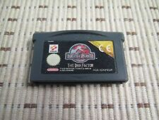 Jurassic Park the ADN factor para GameBoy Advance SP y DS Lite