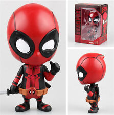 "New The Avengers Marvel X-Man Deadpool Anime 4.72"" Action Figurine Figure NB"