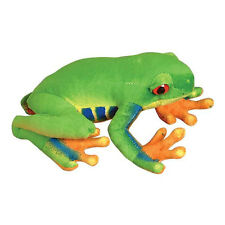 Adventure Planet Plush - RED EYE TREE FROG (8 inch) - New Stuffed Animal Toy
