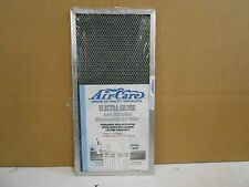 AIR-CARE 9 5/8 X 19 5/8 X 1/2 ELECTRA SILVER ANTI-MICROBIAL ELECTROSTATIC FILTER