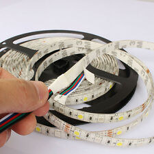 5050 RGBW ULTRA BRIGHT DAYWHITE LED STRIP LIGHT 5PIN 5M 10MM 300LEDS UK FAST