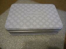 """Bareminerals Tin Metal Container Storage Box Case New Approx 6"""" x 4"""" x 1 1/2"""""""