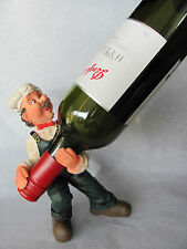Cool Man Standing & Balancing BOTTLE HOLDER..With FREE GIFT Great Bar Mancave