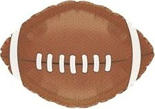 "18"" Football Shaped Balloon Happy Birthday Tailgate Monday Night Foot Ball Party"