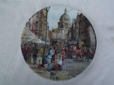 Davenport The Flower Seller - Cries of London Cabinet Plate - Box + Certificate