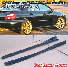 04-07 Impreza STi CS Style Side Skirts (Urethane)