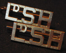 LdSH CANADA ARMED FORCES Lord Strathcona's Horse brass shoulder board TITLES