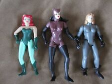 """VINTAGE 1993-1994 KENNER 4""""-5 ACTION FIGURES...CATWOMAN...POISON IVY++"""