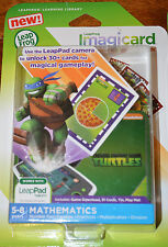 Leap Frog Imagicard Teenage Mutant Ninja Turtles TMNT Math Digital Game Ages 5-8