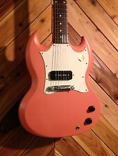 Rare 2006 Gibson USA SG Jr Junior Japan Limited Pink Minty