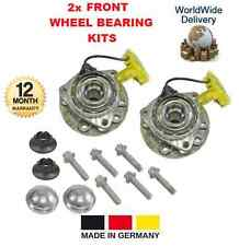 FOR OPEL VAUXHALL ZAFIRA B MK2 1.6 CNG TURBO 2005->ON 2x FRONT WHEEL BEARING KIT