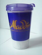 Aladdin Broadway Musical Purple Souvenir Travel Cup with lid