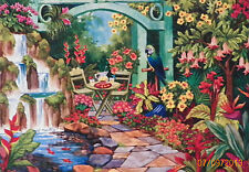 .PUZZLE.....JIGSAW....WERNERSBACH.....Tropical Garden......750pc