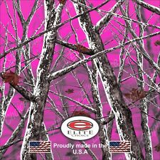 "Snowstorm Hot Pink CAMO DECAL 3M WRAP VINYL 52""x15"" TRUCK PRINT REAL CAMOUFLAGE"
