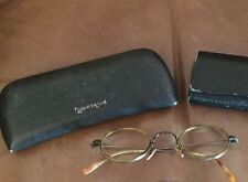 Oliver Peoples MP 2 Signature Glasses (with script) & 1 Case Steampunk Beatles