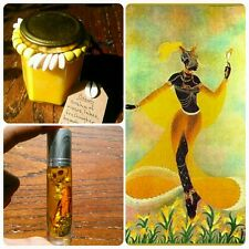 Oshun - Orisha Candle and Oil - Pumpkin Honey Mandarin Cinnamon Chamomile