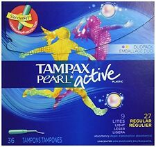 Tampax Pearl Active 36ct