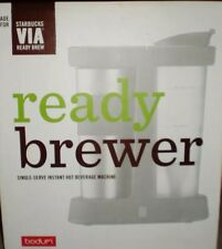 Starbucks Via Ready Brewer With Stainless Travel Mug NIB GREAT GIFT !!