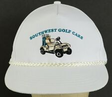 Southwest Golf Cars Carts AZ vintage embroidered adjustable baseball hat cap