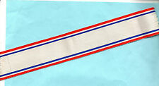 NORWAY - ROYAL RED CROSS BADGE OF HONOUR  RIBBON FULL-SIZE  6 INCHES (15cm)