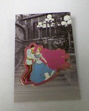 DISNEY WHERE THE CLOCK NEVER STRIKES MIDNIGHT CINDERELLA & PRINCE 2007 PIN EUC