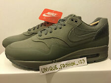 NIKE AIR MAX 1 V SP patch Pack ACCIAIO VERDE US 10 UK 9 44 USA Mimetico Nero Sabbia 90