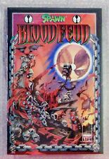 SPAWN BLOOD FEUD 1-4 Complete, all Graded NM-NM+, MW Com Grading, Image 1995