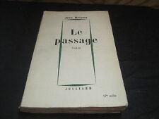 Jean REVERZY: le passage (17 ème mille)