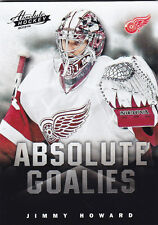 2013-14 PANINI ABSOLUTE JIMMY HOWARD ABSOLUTE GOALIES BOXING DAY THICK #15