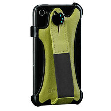 Apple iPhone 4 iPhone4S Leather Strap Hand Holder Case Premium Band NEULBO Cover