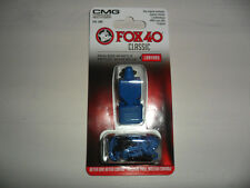 FISCHIETTO ARBITRO FISCHIO FOX 40 CMG ORIGINAL FOX40 BLU REFREE WHISTLE AIA