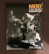 RARE SIGNED by author TERRY RAWLINGS  Mod: A Very British phenomenon