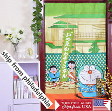 Noren Japanese Curtain Doorway Doraemon cat 85x145cm