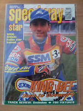 SPEEDWAY STAR  MAGAZINE - GREG HANCOCK - 15 MARCH 1997