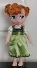 "Disney store 15"" frozen anna animator doll toddler disney princesse"