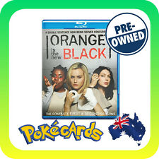 Orange Is The New Black : Season 1-2 (6 DISC BLU-RAY) REG. B PRE-OWNED