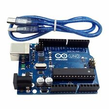 Arduino compatible UNO R3 Development Board MEGA328P ATMEGA16U2 free USB Cable