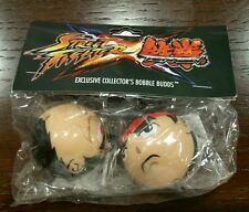 Street Fighter x Tekken Ryu Bobble Budds Capcom promo swag