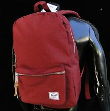 Herschel Supply Classic Settelment Wine Red Womens Mens Backpack School bag