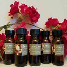 Purley Peppermint 1/2oz Uncut Premium Scented Burning Oil by Living Aroma