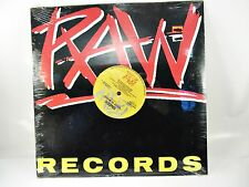 """SNEEK What Is Music, House Music 12"""" Single LP Record MINT w/ MIXES Raw Records"""