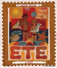 Yt1828 CROIX ROUGE L ETE   FRANCE  FDC Enveloppe Lettre Premier jour