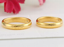 Authentic 999 24K Yellow Gold Ring 3D I love you Ring Band 1pcs Size: 6