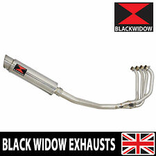 KAWASAKI ZRX 1200 Full Exhaust System 360mm Round Stainless Silencer SG36R