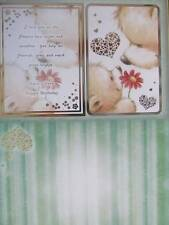 Die Cut Foiled Card Topper & Accent-Foiled A4 Card Blank Bears Hunkydory